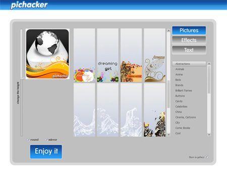 profilo facebook personalizzare immagine pichacker