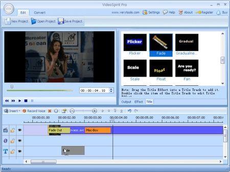 programma gratis video editing videospirit pro