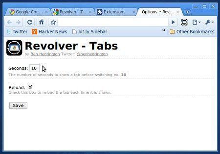 revolver tabs