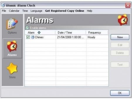 ricordare eventi importanti atomic alarm clock