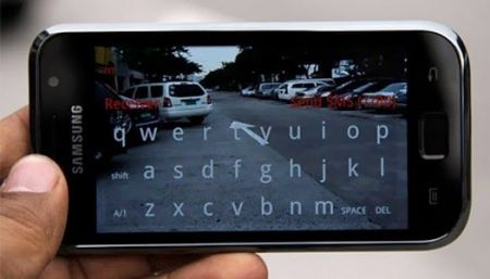 Samsung Galaxy S RoadSMS