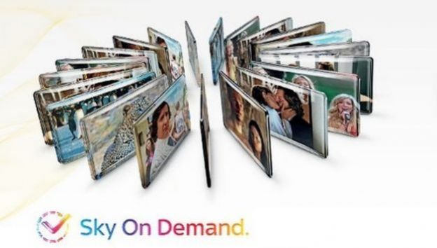 sky on demand intrattenimento internet