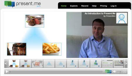 slideshow powerpoint video present me