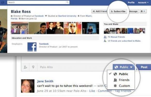 social network facebook pulsante iscriviti