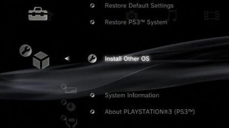 Sony OtherOS PlayStation 3