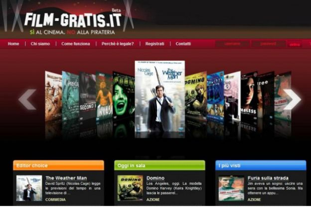 streaming italia megavideo