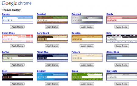 temi google chrome download