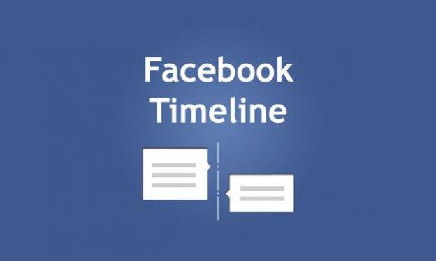 timeline facebook accettare