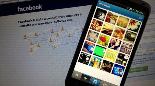 timeline facebook foto instagram
