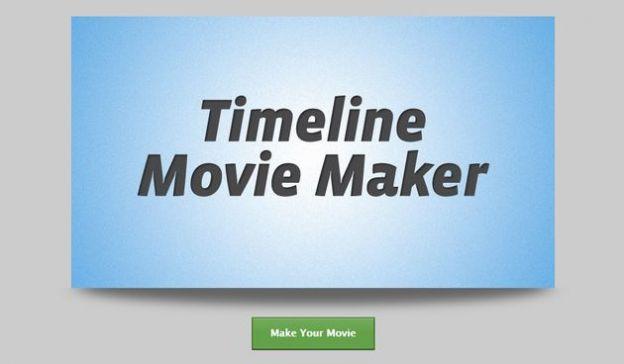 timeline facebook movie maker