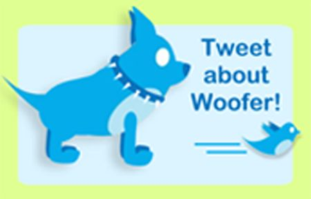 Twitter about Woofer micro macro blogging