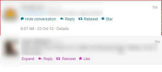 twitter like star