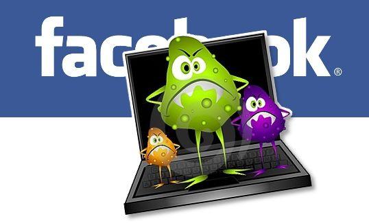 virus facebook ramnit