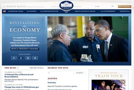 Whitehous.org di Obama