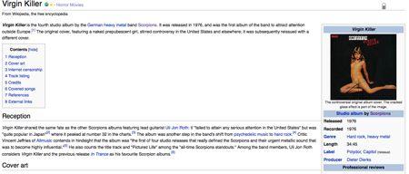 Wikipedia e Virgin Killer
