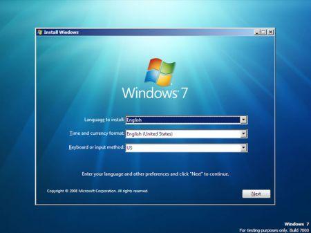Window 7 beta leak