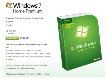 Windows 7 Family Pack