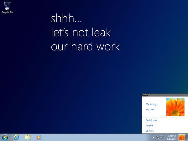 windows 8 leak