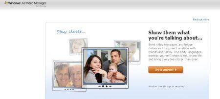 windows live video messages