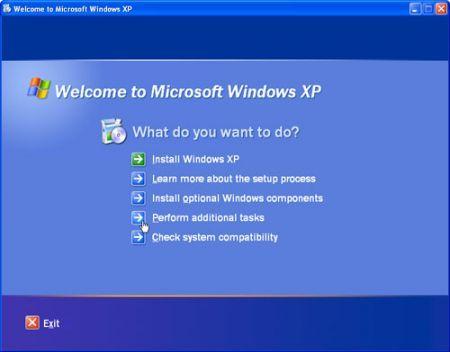 sempre benvenuti su Windows XP!