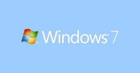 Windows 7 Light Blue
