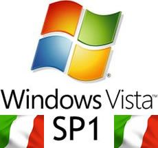 Windows Vista SP1 in italiano