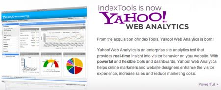 Yahoo! Web Analytics