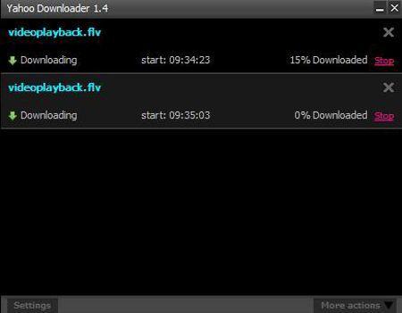 Yahoo Downloader