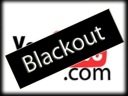 YouTube Blackout