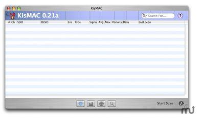 KisMac screenshot