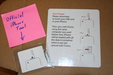 il packaging della graffetta ufficiale Apple