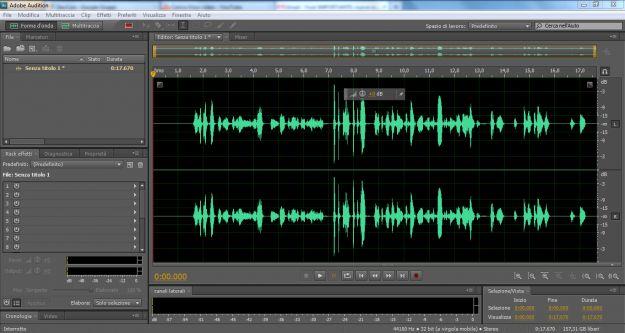 Effetti in Adobe Audition: guida all'uso
