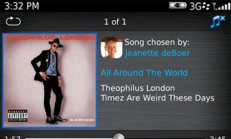 La Musica su Smartphone BlackBerry viaggia su BBM Music