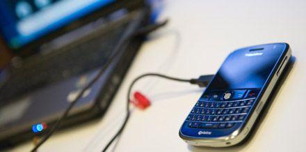 Usare il BlackBerry come modem per navigare da PC