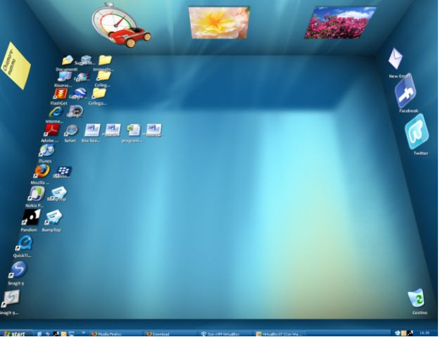 Desktop 3D su Windows con Bumptop