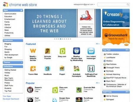 Chrome Web Store: le applicazioni dedicate alle feste e alle vacanze
