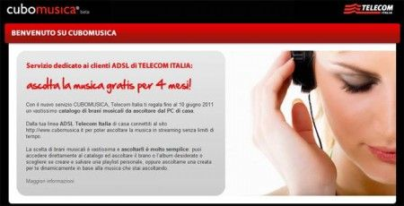 Telecom Italia presenta Cubomusica, la piattaforma per la musica digitale