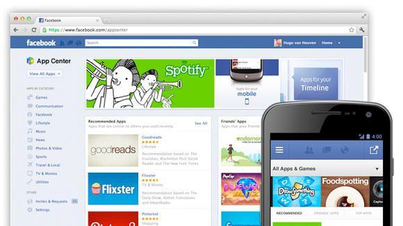 Store Applicazioni anche per Facebook con App Center