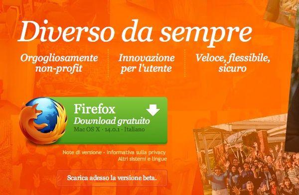 Mozilla Firefox 14, nuova relese con attenzione alla sicurezza
