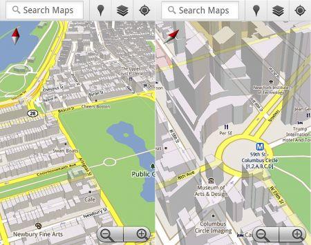 Android OS: arriva aggiornamento Google Maps