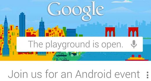 Google Android invita la stampa a New York per il 29 Ottobre