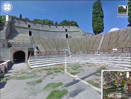 Google Street View Pompei