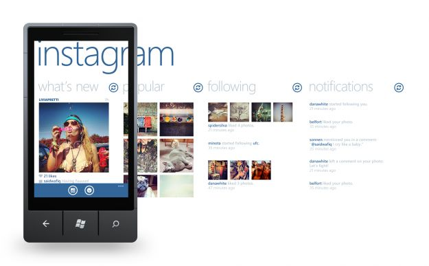Windows Phone e Instagram, matrimonio (ancora) lontano