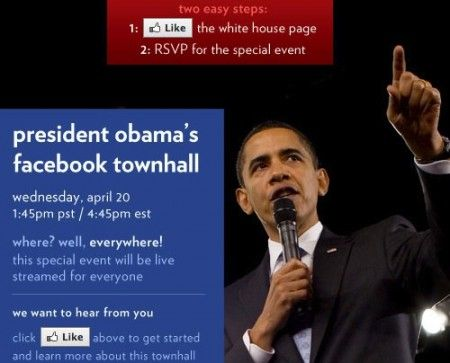 Barack Obama e Mark Zuckerberg in diretta su Facebook