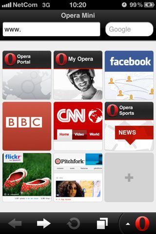 Opera Mini: aggiornamento per iPhone, iPad, iPod Touch