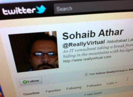 Osama Bin Laden: su Twitter la prima notizia è di Sohaib Athar