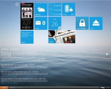 Rainmeter omino windowsXP