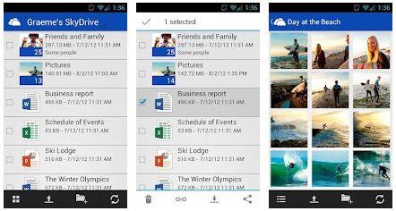 Google Play accoglie Microsft SkyDrive