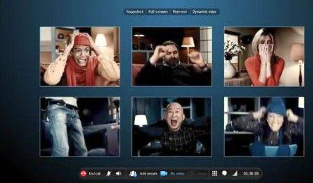 Skype: arrivano le videochiamate di gruppo