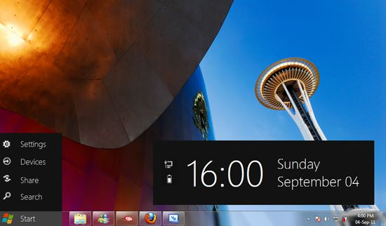 Ripristinare il pulsante Start in Windows 8 con Start for Windows 8